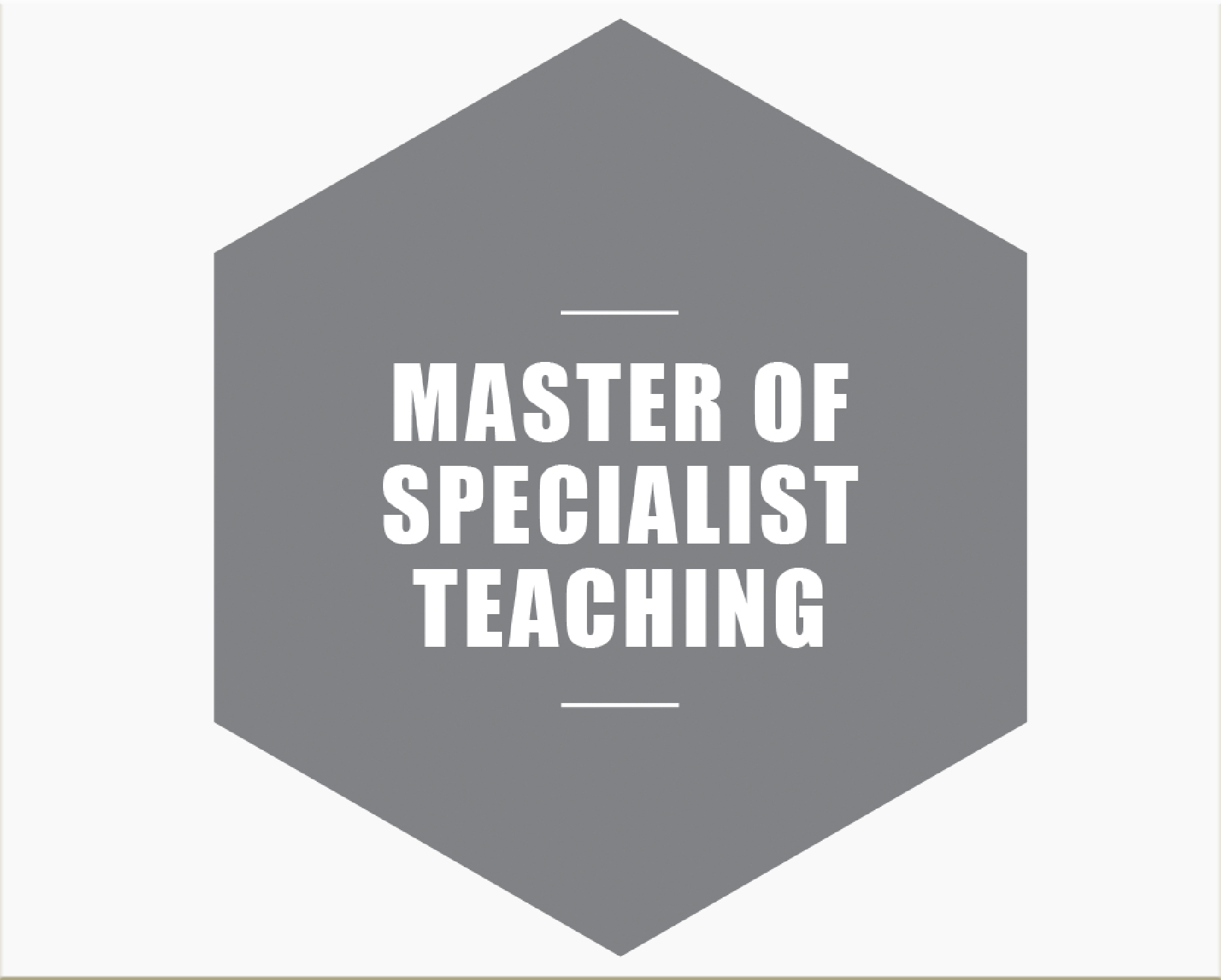 Master of specialist teaching